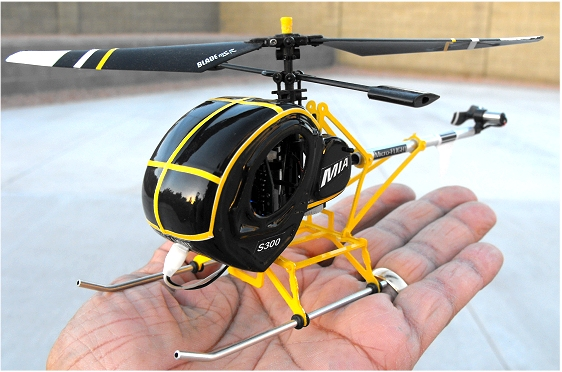 RC micro helicopters